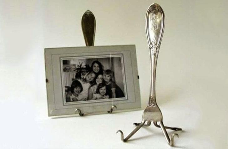 Spoon photo frame holder