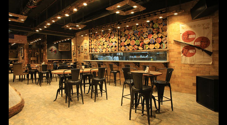 Theme restaurant cowboys cafe navi mumbai @TheRoyaleIndia
