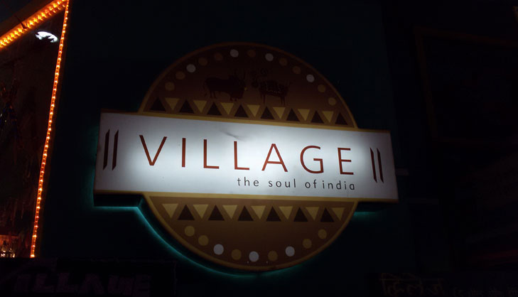 Theme restaurant navi mumbai the village @TheRoyaleIndia