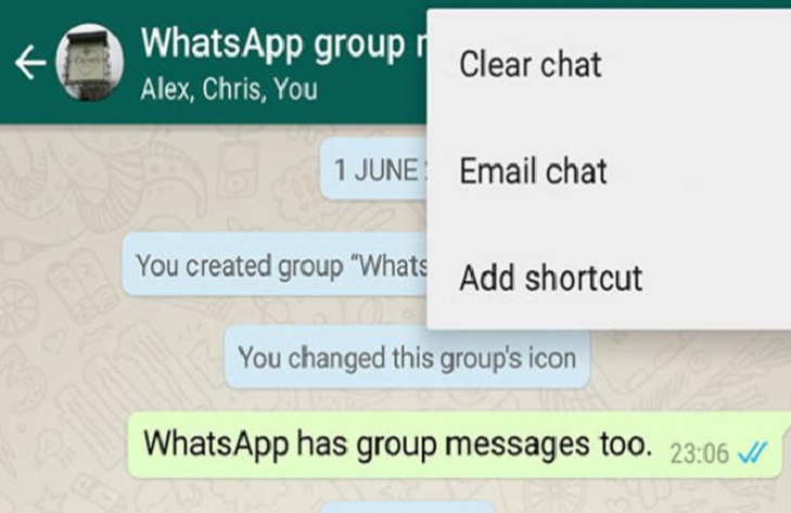 whatsapp hack contacts shortcut @TheRoyaleIndia