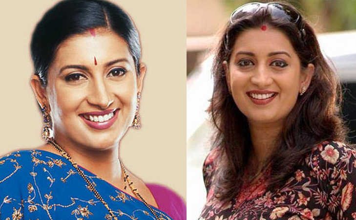 actress turned politician smriti irani @TheRoyaleIndia