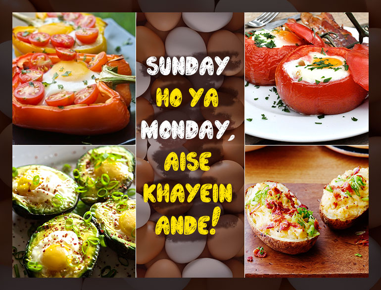 Baked Egg Recipes @TheRoyaleIndia