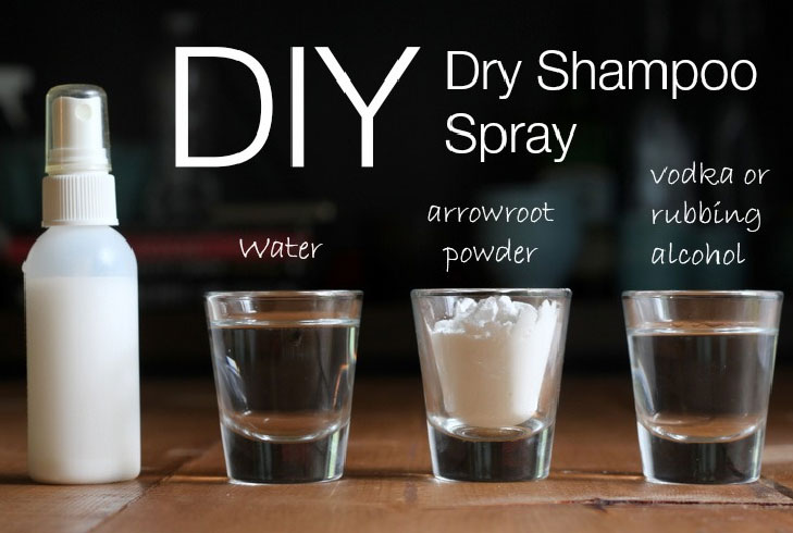 Diy dry shampoo spray @TheRoyaleIndia