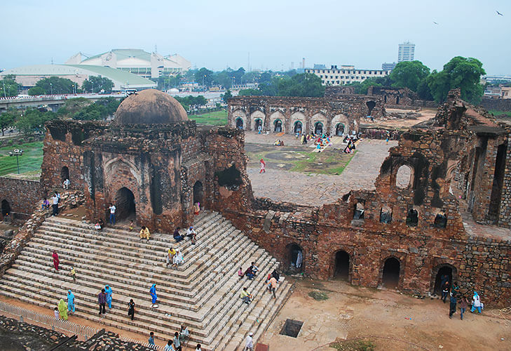 Feroz shah kotla fort Thursday djinns prayers @TheRoyaleIndia
