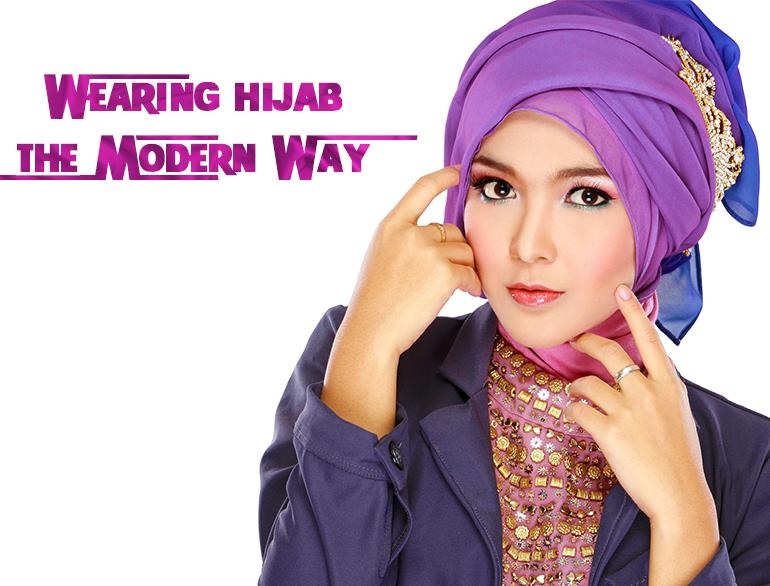 Hijab draping styles @TheRoyaleIndia