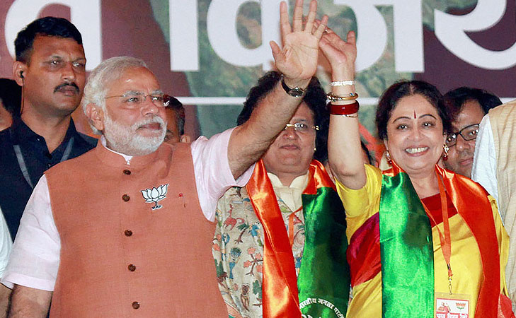 kiron kher actress turned politician @TheRoyaleIndia