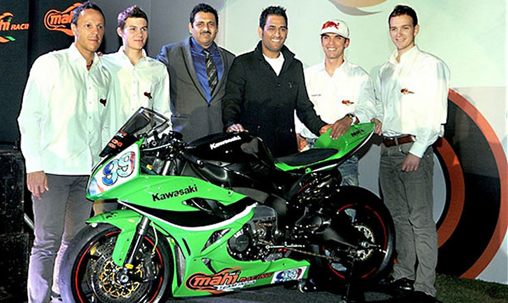Mahi racing team India @TheRoyaleIndia