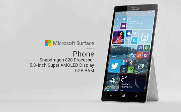 Microsoft surface phone features release date @TheRoyaleIndia
