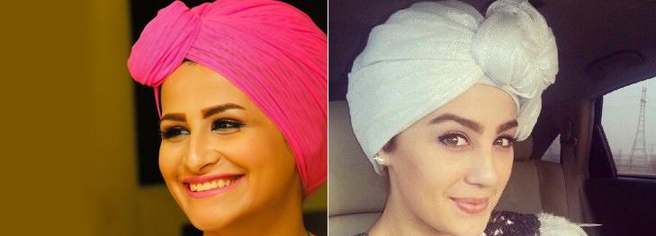 Modern fron tie hijab @TheRoyaleIndia