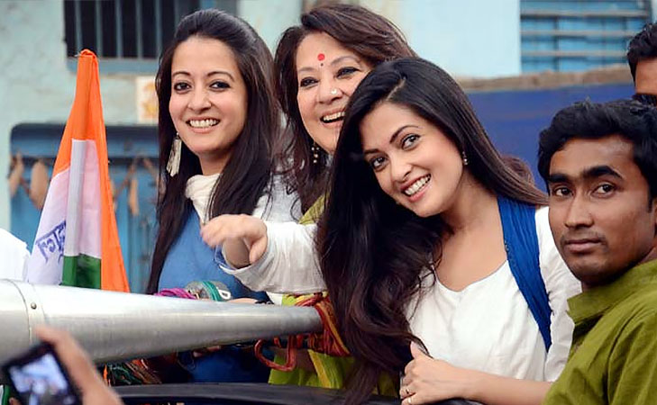moon moon sen actress turned politician @TheRoyaleIndia