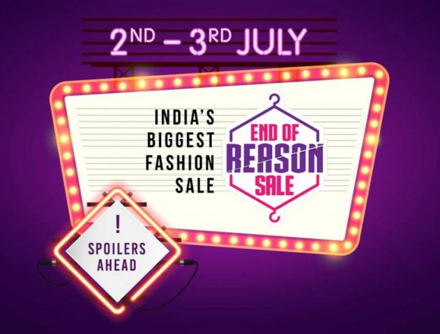 Myntra sale @TheRoyaleIndia