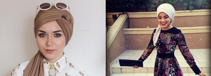 Ponytail style hijab @TheRoyaleIndia
