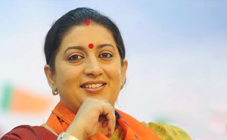 smriti irani actress turned politician @TheRoyaleIndia