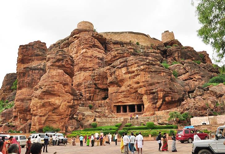 Badami caves karnataka @TheRoyaleIndia