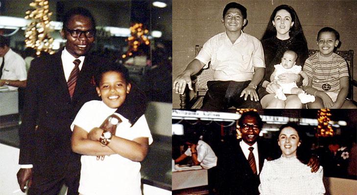 Barack obama childhood days birth @TheRoyaleIndia