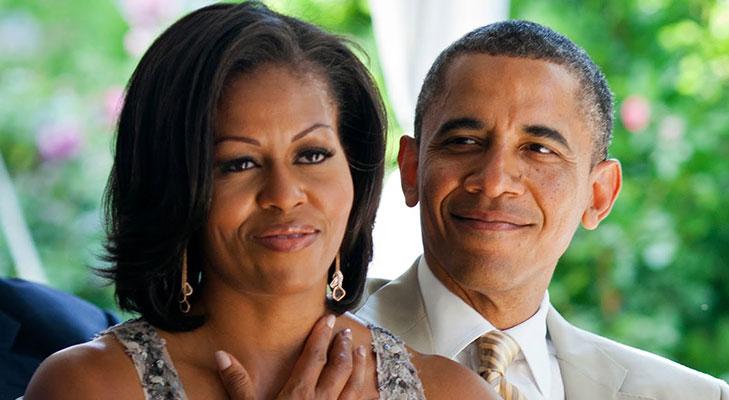 Barack obama first lady michelle obama @TheRoyaleIndia