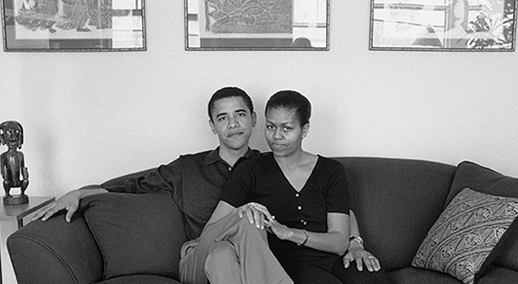 Barack obama michelle obama young couple @TheRoyaleIndia