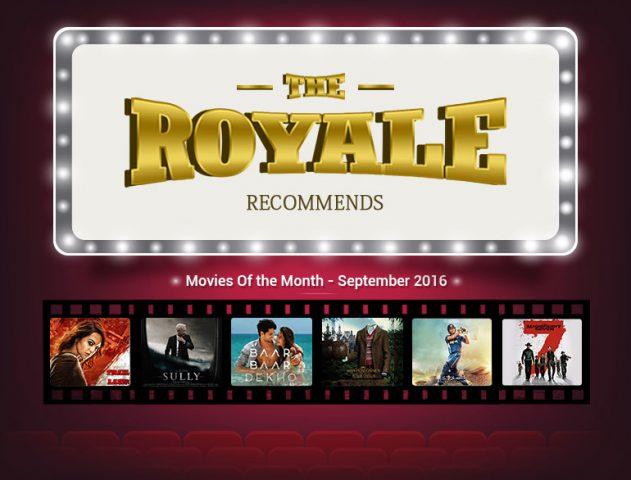 Best Movies releasing in September 2016 @TheRoyaleIndia