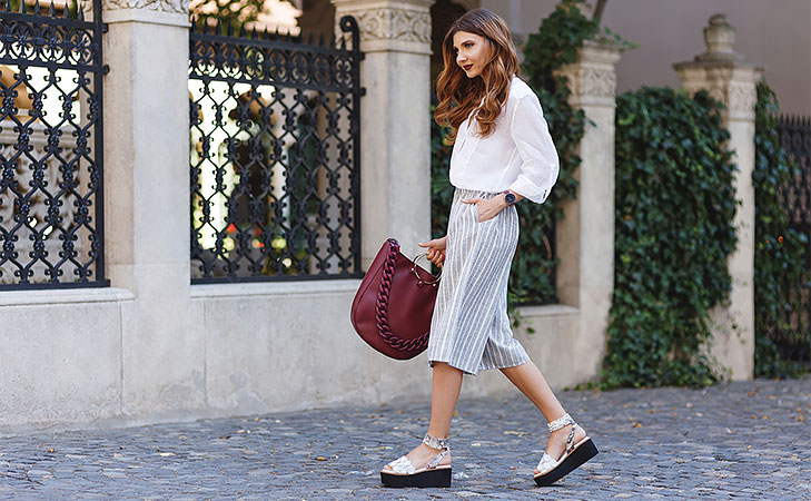 Chic ways to wear culottes @TheRoyaleIndia