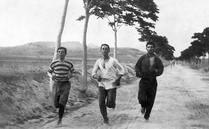 First marathon olympics 1896 @TheRoyaleIndia