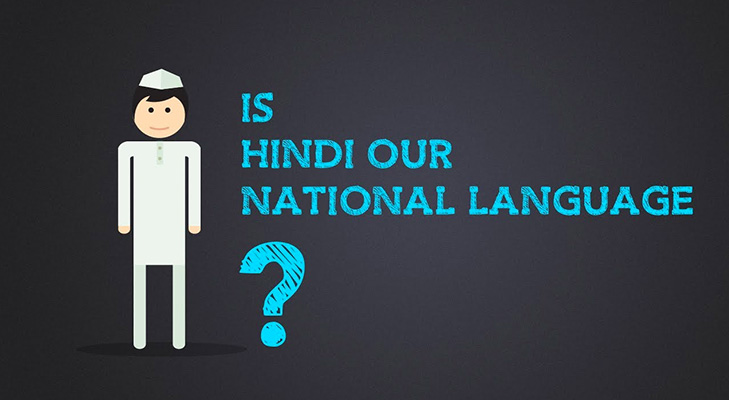 Hindi not national language of india official language @TheRoyaleIndia