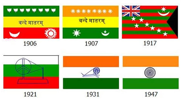History of Indian flag @TheRoyaleIndia