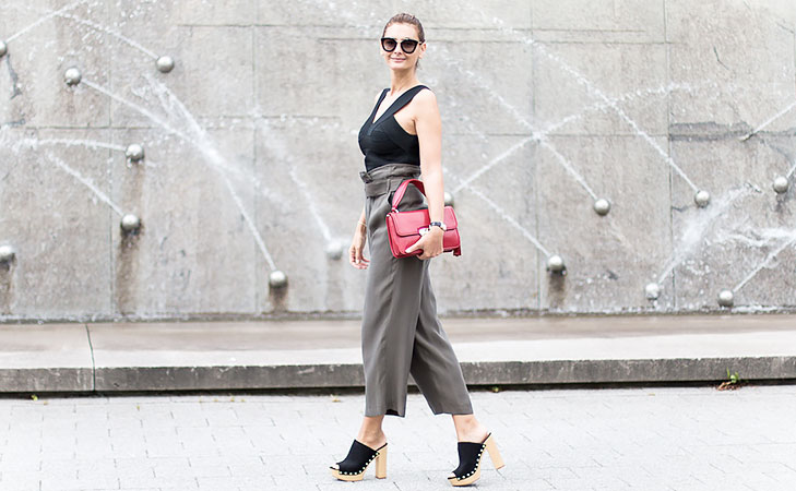 How to style your culottes @TheRoyaleIndia
