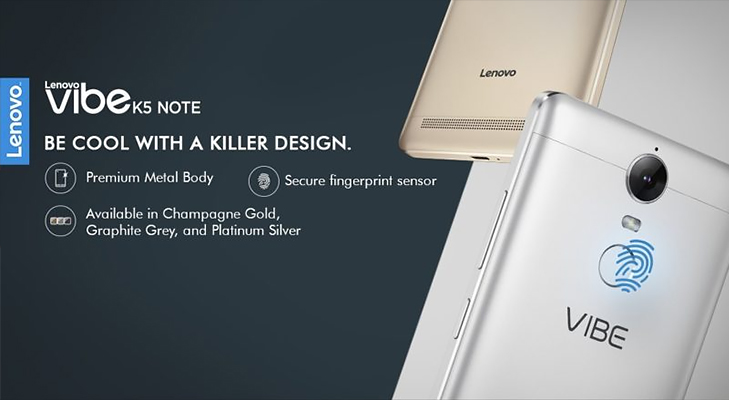 Lenovo k5 note finger print sensor @TheRoyaleIndia