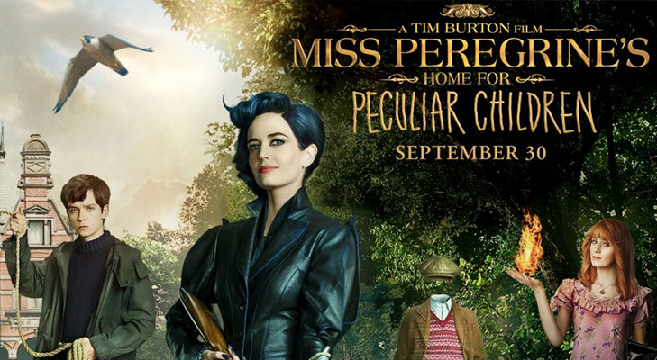 Miss peregrines home for peculiar children september @TheRoyaleIndia