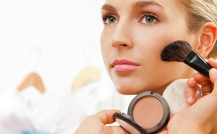 No-makeup look blusher bronzer @TheRoyaleIndia