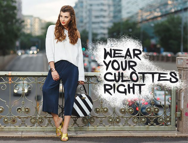 Styling tips for Culottes @TheRoyaleIndia