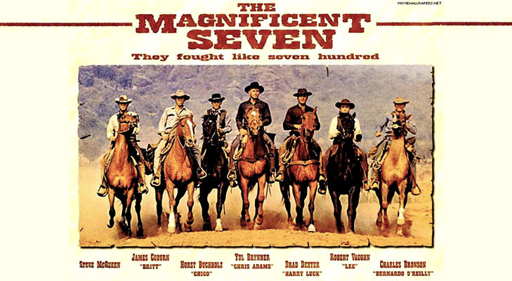 The magnificent seven hollywood releasing september 2016 @TheRoyaleIndia