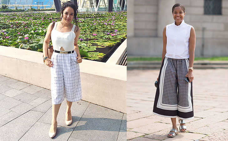 Try printed culottes @TheRoyaleIndia