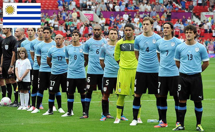 Uruguay national anthem olympics @TheRoyaleIndia