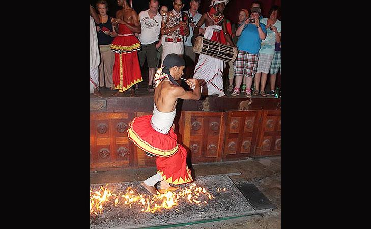 walking on fire theemithi @TheRoyaleIndia