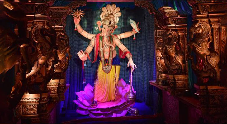 First look mumbaicha raja ganesh galli 2016 @TheRoyaleIndia