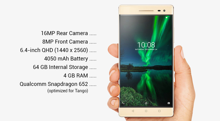 lenovo phab 2 tango pro augmented reality features @TheRoyaleIndia