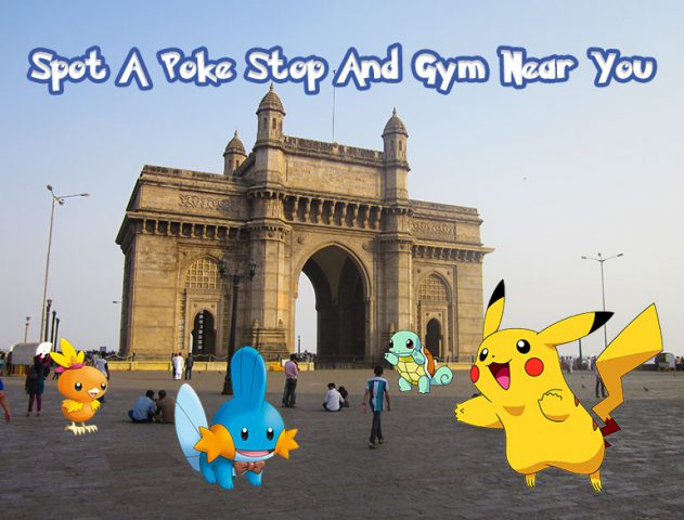 pokemon stops and gyms locations in mumbai @TheRoyaleIndia
