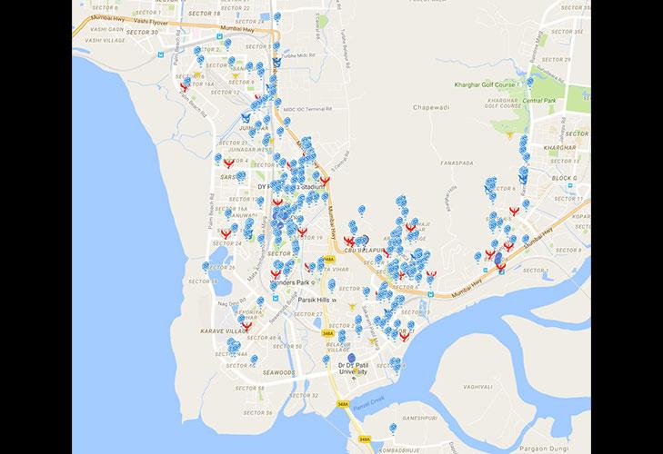 pokemon go gym stop navi mumbai belapur @TheRoyaleIndia