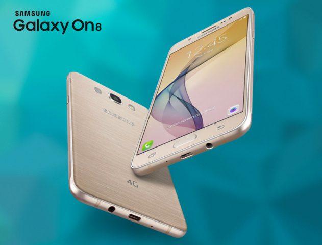 Samsung Galaxy On8 @TheRoyaleIndia