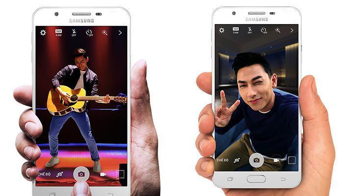 Samsung j7 prime camera @TheRoyaleIndia