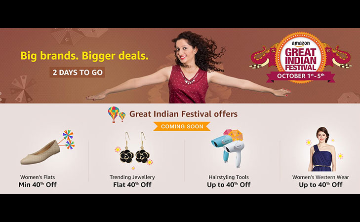 amazon great indian festival sale @TheRoyaleIndia