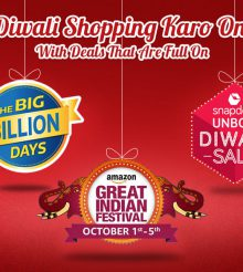 This Diwali, Don't Miss Out On the Best Deals on Flipkart, Amazon and Snapdeal
