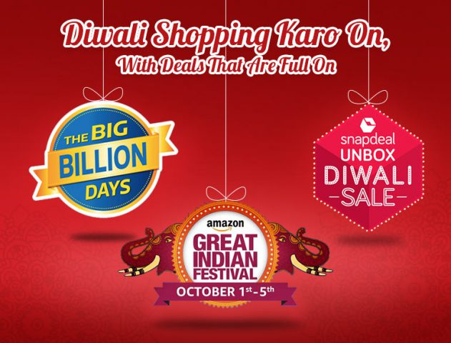 Diwali Sale by Amazon, Flipkart and Snapdeal @TheRoyaleIndia