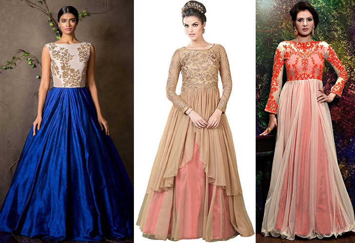 diwali fashion tips indo western gowns @TheRoyaleIndia