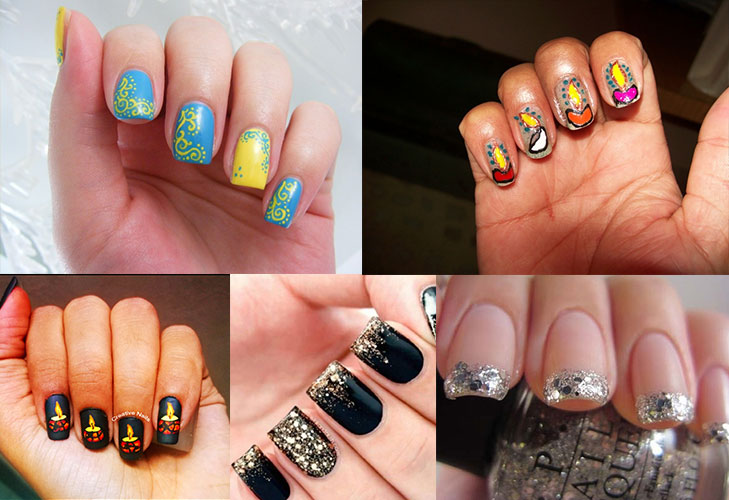 diwali styling tips nail art @TheRoyaleIndia