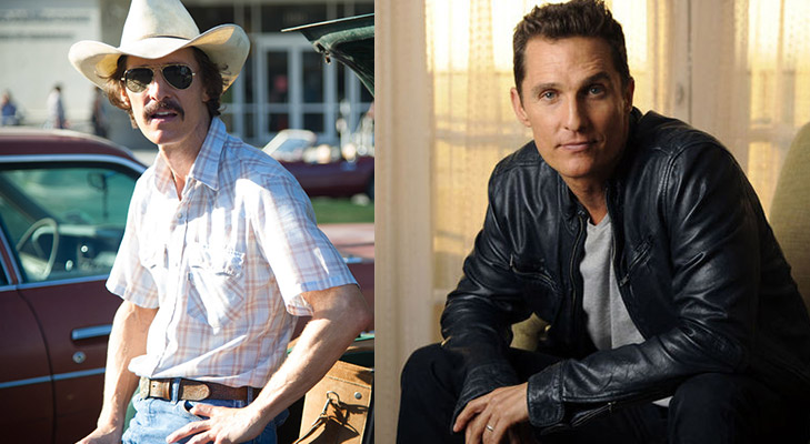 matthew mcconaughey weight loss dallas buyers club @TheRoyaleindia