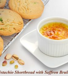 This Diwali, Cook The French Way With Saffron Brulee And Pistachio Shortbread