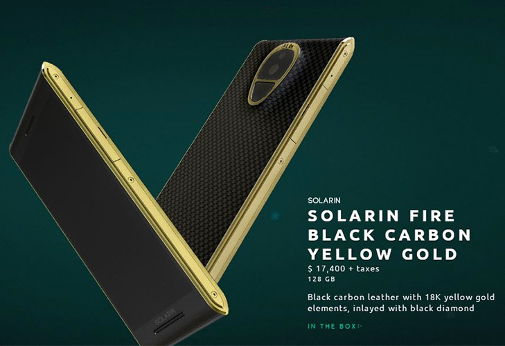 sirin solarin crystal most expensive smartphones @TheRoyaleIndia