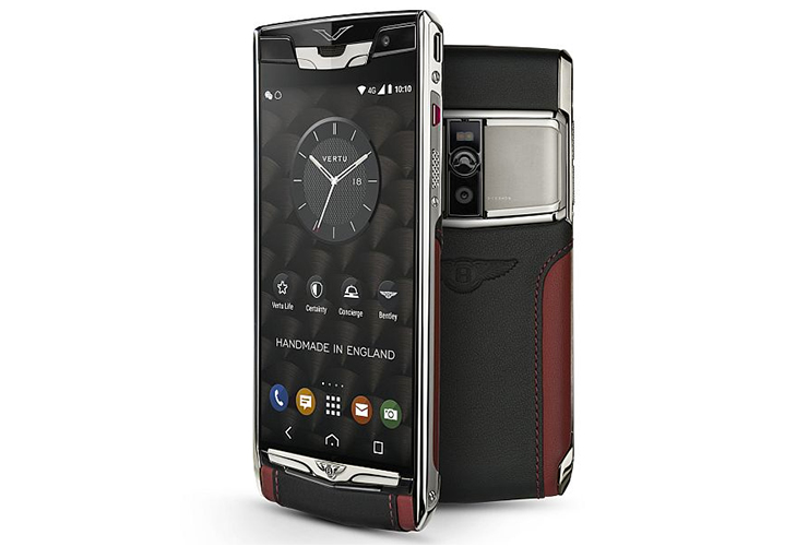 vertu signature touch for bentley expensive phone @TheRoyaleIndia